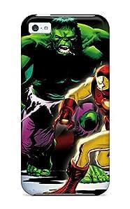 MeSusges Perfect Tpu Case For Iphone 5c/ Anti-scratch Protector Case (hulk Smash Avengers)