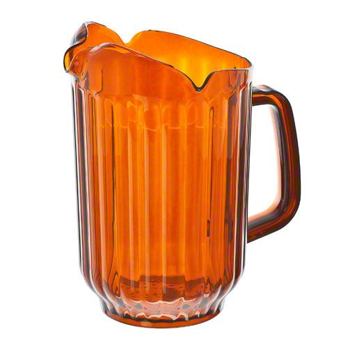 Update International (WP-60PB) 60 Oz Amber Polycarbonate Water Pitcher -