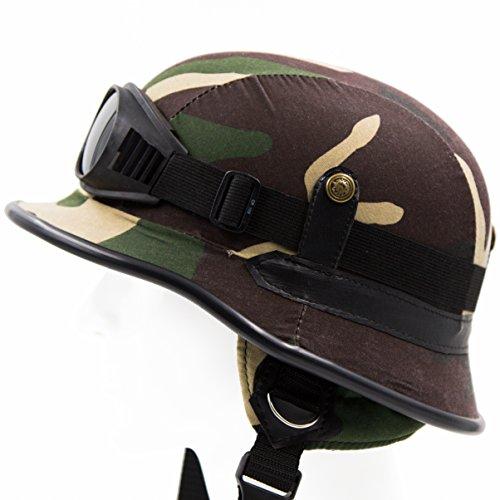 Camouflage Motorcycle Helmet - 6