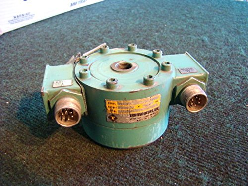 Transducers Inc. Pancake Style Load Cell U492-3K-5307 Cap 3000 LBS from Transducers Inc