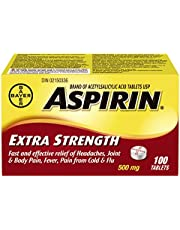 ASPIRIN Extra Strength Tablet, 500 mg