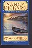 Say No to Murder (Jenny Cain Mysteries, No. 2)