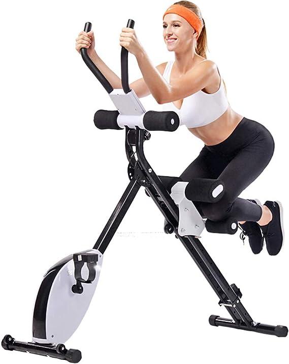 Bicicleta de Ejercicio Vertical magnética Plegable 2 en 1 de ...