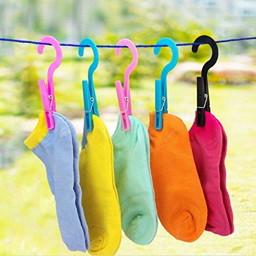 Stock Show 12Pcs Multipurpose Hanging Clothes