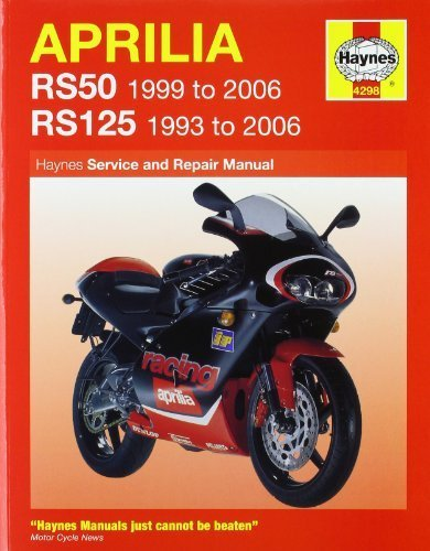 Aprilia RS50 1999 to 2006/RS125 1993 to 2006(Haynes Service & Repair Manuals) by Phil Mather ()