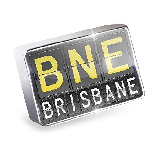 Floating Charm BNE Airport Code for Brisbane Fits Glass Lockets, - Brisbane Airport Shops