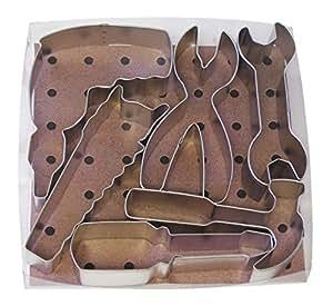 R&M International 5-Piece Tool Cookie Cutter Set