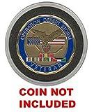 Acrylic Single Challenge Coin Display Case