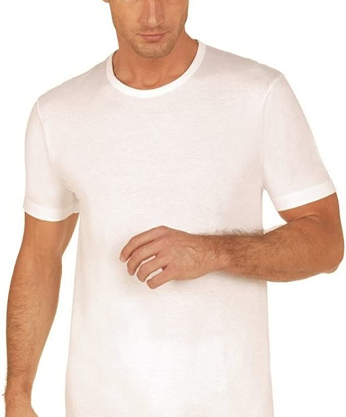 NOTTINGHAM Maglia Intima Uomo TM18 Lana E Cotone Bianco