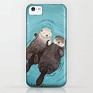 diy phone caseLarryToliver You deserve to have Otterly Romantic - Otters Holding Hands For iphone 6 4.7 inch Casesdiy phone case