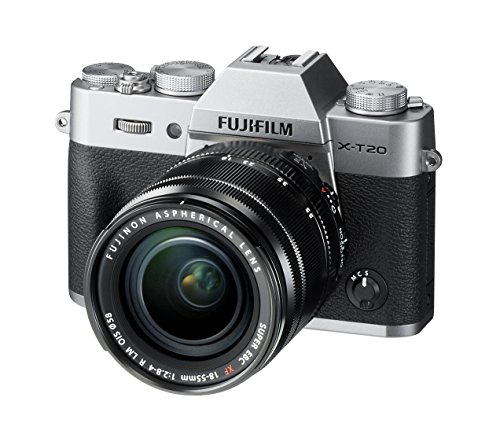 Fujifilm X-T20 24 MP Mirrorless Camera with XF 18-55mm Lens (APS-C X-Trans CMOS III Sensor, Electronic Viewfinder, 3… 1