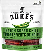 DUKE's Smoked Shorty Sausages - Hatch Green Chile (Pack o
