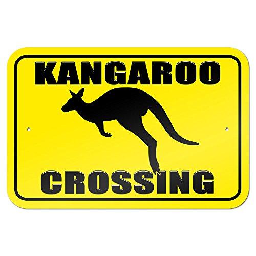 Kangaroo Road Sign (Kangaroo Crossing 9