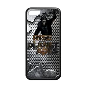 Hoomin Cool Grey Rise of the Planet of the Apes iPhone 5C Cell Phone Cases Cover Popular Gifts(Laster Technology)