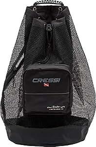 Cressi Roatan Heavy Duty Dive Bag Mochilla de Buceo, Adultos Unisex, Negro, 90 lt