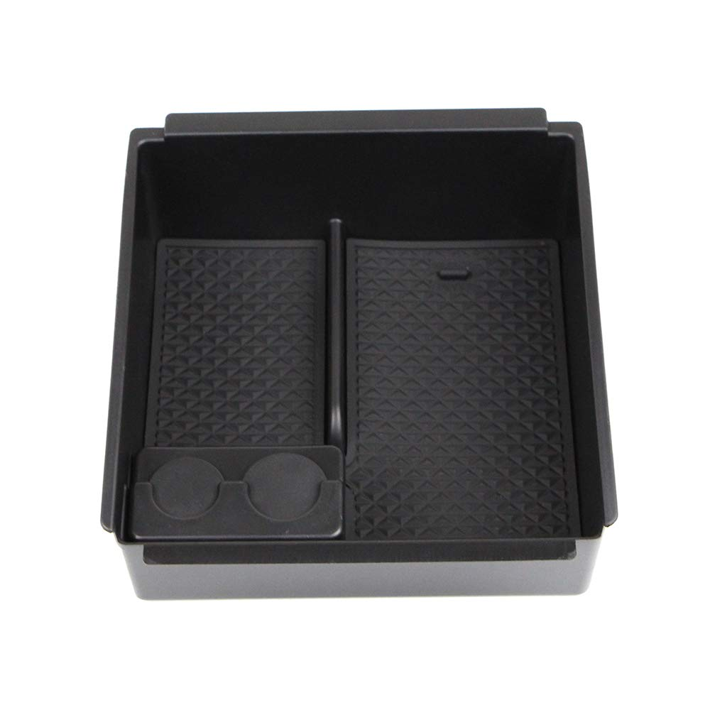 Dreamseek Armrest Storage Box Holder for Isuzu D-Max MU-X 2012-2018 Central Console Glove Tray Interior Organizer
