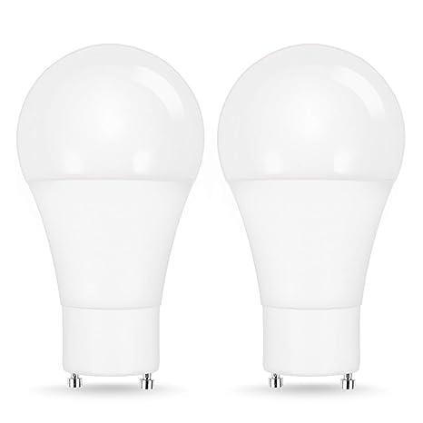 Jandcase Led Gu24 Bulb 60w Equivalent Bathroom Vent Light Bulbs 8w