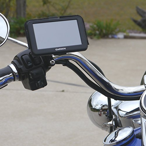 Universal Brake//Clutch Black Motorcycle GPS Ball Mount 17mm