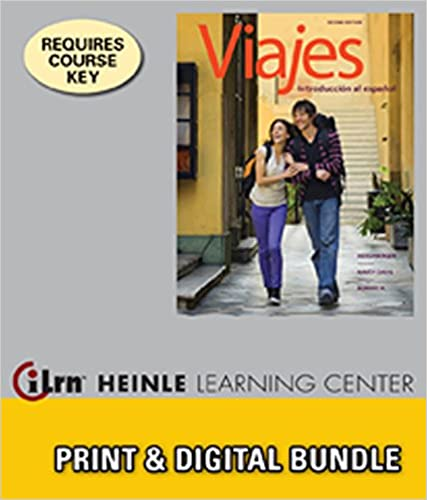 Bundle Viajes Introduccion Al Espanol 2nd ILrnTM Heinle Learning Center 4 Terms 24 Months Printed Access Card Edition