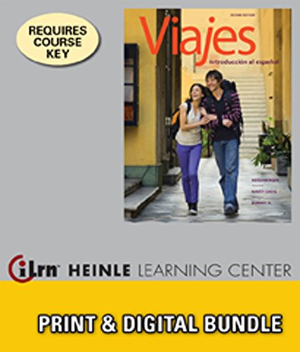 Bundle: Viajes: Introduccion al espanol, 2nd + iLrn Heinle Learning Center, 4 terms (24 months) Printed Access Card