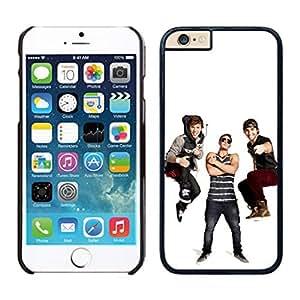 NEW DIY Unique Designed Case For iphone 6 plus Emblem3 iphone 6 plus Black 5.5 TPU inch Phone Case 139