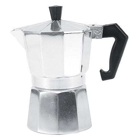 Cafetera Espresso Moka Pot 3/6/9/12 Tazas De Aluminio Tipo ...