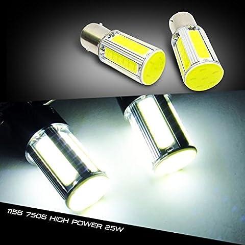LEDIN 2x LED Reverse Backup Light Bulb (1156 BA15s 7506 P21W) High Power COB (71 Chevelle Led Tail Lights)
