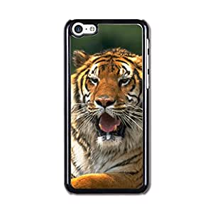 Iphone 5c Case, Iphone 5c Covers, Cateyes Hard Cover Case For Iphone 5c -Cool Tiger Design Pattern