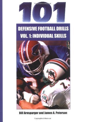 101 Defensive Football Drills: Individual Skills Drills (101 Defensive Football Drills (Sagamore Publishing)) DVD Video edition by Bill Arnsparger, James A. Peterson (2001) Paperback ()