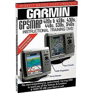 BENNETT MARINE INSTRUCTIONAL DVD FOR THE GARMIN GPSMAP 420S, 430S, 440S, 450S, 530S AND 540S