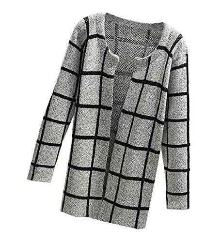 Camicia Lungo Cardigan Inverno Di Donne Delle Rkbaoye Cappotto 6 Stampa Autunno Grafica Maglia In qR8w17