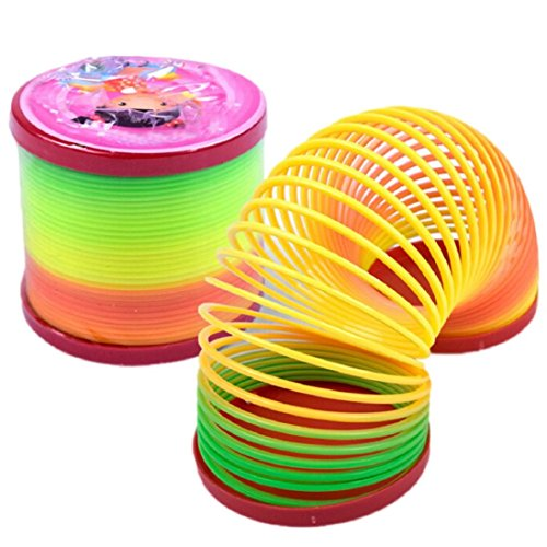 Magic Slinky Rainbow Springs Bounce Fun