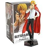 Deep Huble Anime One Piece Glitter & Brave Sanji PVC Figure Collectible Model Toy
