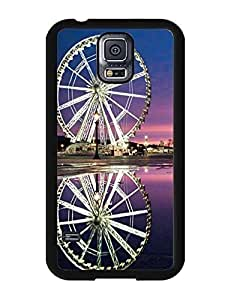 6646763M422622114 Ferris Wheel Image Incredible Collection Cellphone Accessories Style 009, Hard Plastic Case Cover for Samsung Galaxy S5 I9600