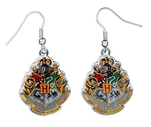 Official Harry Potter Jewellery Hogwarts Crest Earrings