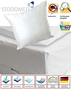 Fundas protectoras impermeables para almohadones colchones y edredones, antiácaros