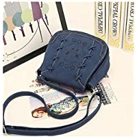Fashion Blue Shoulder Bag For Women Hollow Butterfly Crossbody Bag Summer Style Ladies HandBag