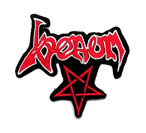 Wasuphand Venom Rock Extreme Band Patch Sew On Iron Embroidered Heavy Metal Music DIY Bag Vest Gift Jeans Denim Badge Costume