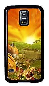 Samsung Galaxy S5 Thanksgiving Day 1 PC Custom Samsung Galaxy S5 Case Cover Black
