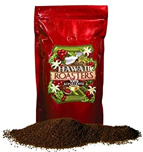 Hawaii Roasters Award-Winning, Farm-Roasted 100% Kona Coffee
