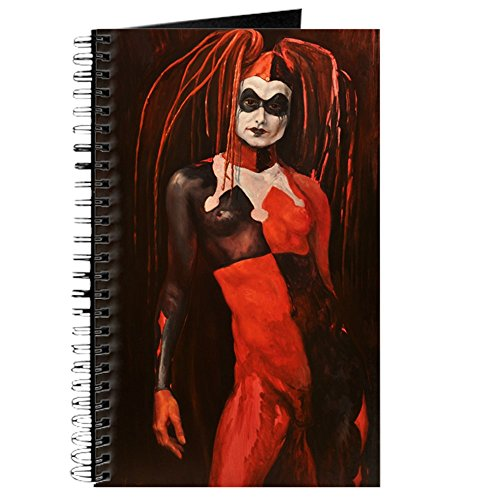 CafePress Winter Harlequin II Journal Spiral Bound Journal Notebook, Personal Diary, Blank]()