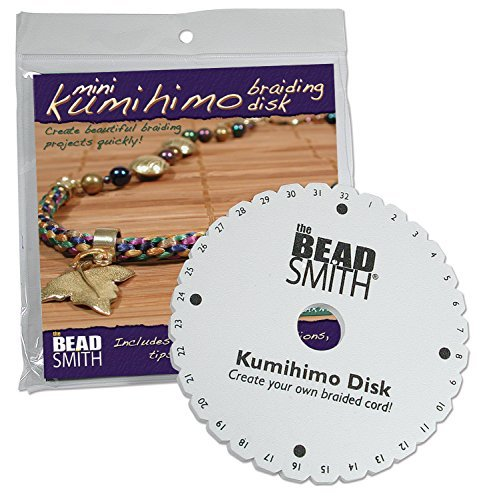 Kumihimo Mini (4.25 inch) Disk, With Instruction Sheet