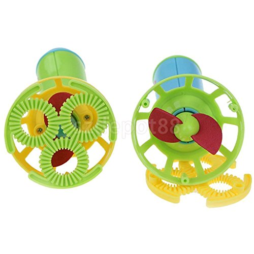 VIPASNAM-Electric Bubble Machine Fan Blower Kids Playing Outdoor Bubble-Making Toys