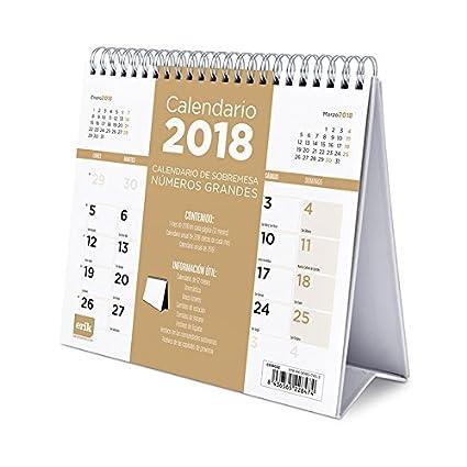 Grupo Erik Editores Calendario Sobremesa Deluxe 2018 Generico