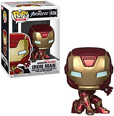 Games ... Stark Tech Suit Funko Gamerverse POP Marvel Avengers Game: Iron Man