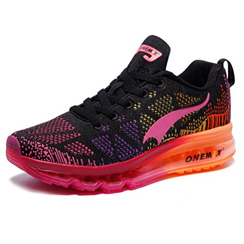 YiDiar Women's Lightweight Flexible Air Cushion Running Shoes Gym Outdoor Athletic Trainers Sneakers Review