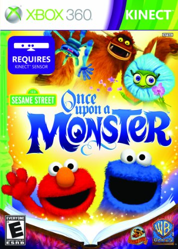 Sesame Street: Once Upon A Monster - Xbox 360 (Games Street Sesame)