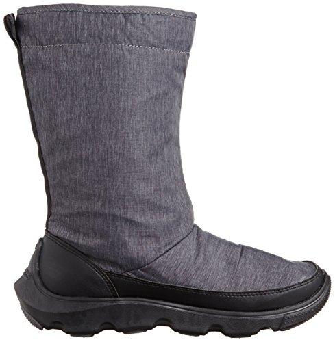 crocs Duet Busy Day Winter Boot W Damen Stiefel Schwarz (Black/Black)