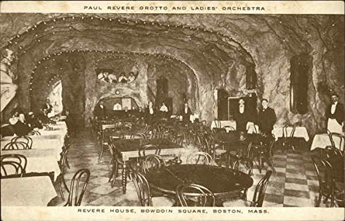 Paul Revere Grotto and Ladies' Orchestra - Revere Hotel, Bowdoin Square Original Vintage Postcard (Revere Hotel compare prices)