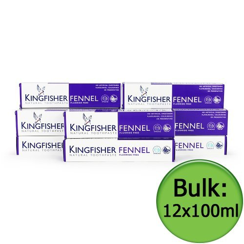 kingfisher-toothpaste-fennel-fluoride-free-12x100ml-by-kingfisher